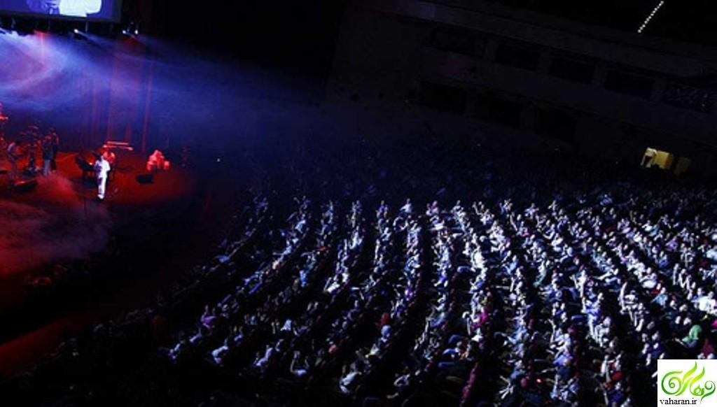 اعلام زمان برگزاری کنسرت های زمستانی بهمن 95