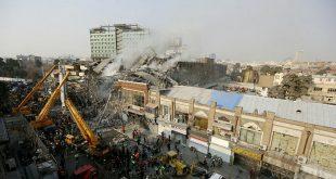 تعداد کل مصدومان و شهیدان حادثه پلاسکو اعلام شد
