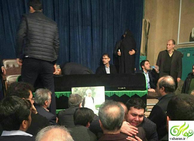 انتشار اولین عکس پیکر هاشمی رفسنجانی دی 95