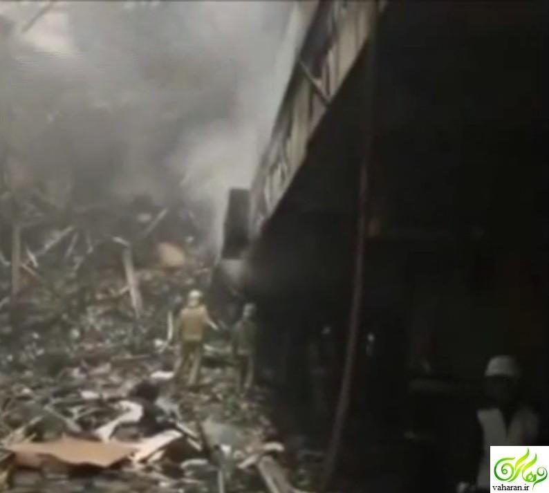 انتشار اولین فیلم زیرزمین پلاسکو بعد از آتش سوزی + دانلود