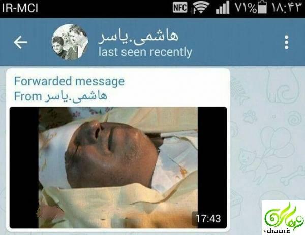 انتشار عکس صورت رفسنجانی در کفن / آخرین عکس رفسنجانی پس از مرگ