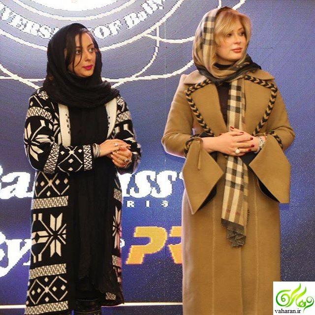 بارداری نیوشا ضیغمی و غیبت در جشنواره فیلم فجر 95 !؟