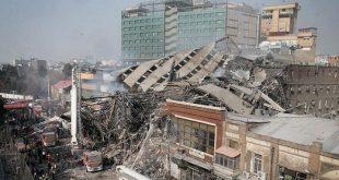 کشف اجساد 5 شهروند و آتش نشان در پلاسکو 4 بهمن 95