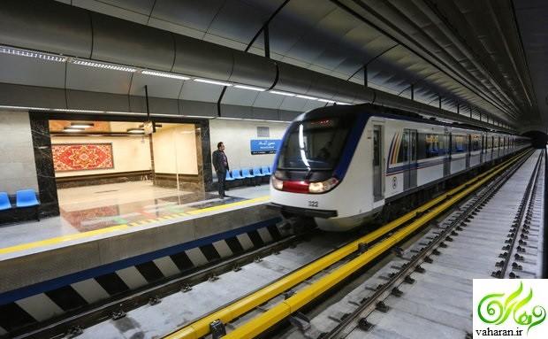 جزییات مرگ یک مسافر در مترو 19 دی 95 + اطلاعیه شرکت مترو تهران در این باره