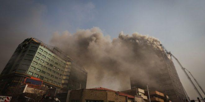 جزییات کامل خبر فرو ریختن ساختمان پلاسکو + اسامی مصدومین و فیلم و عکس