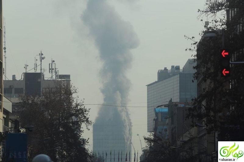 واکنش هنرمندان و بازیگران به حادثه ساختمان پلاسکو تهران
