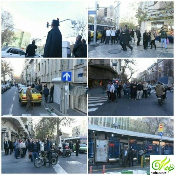 جزییات کامل شلیک های هوایی امروز تهران دی 95 + فیلم و عکس