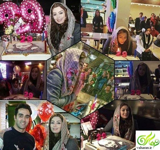 جشن تولد سحر قریشی در رستوران پوریا پورسرخ دی ۹۵ + فیلم و عکس