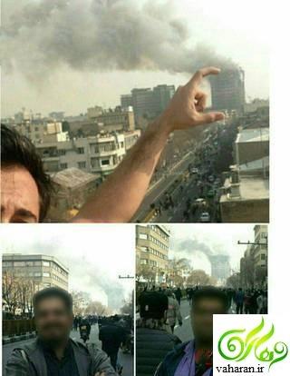 زشت ترین عکس حادثه ساختمان پلاسکو
