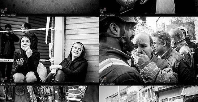 متن مصاحبه دردناک با خانواده یکی از آتش نشانان مفقود در ساختمان پلاسکو