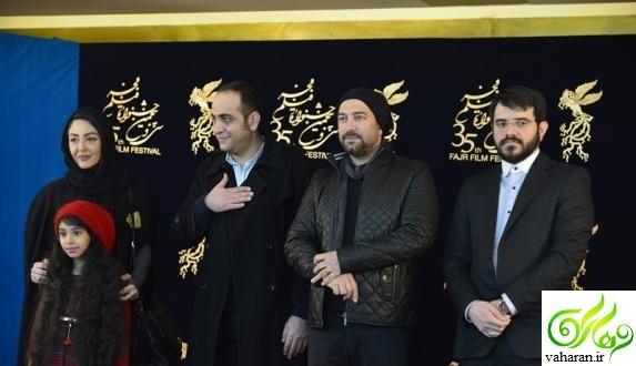 عکس های بازیگران در دومین روز سی و پنجمین جشنواره فجر 95