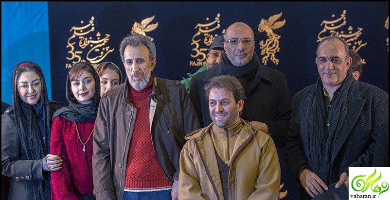 عکس های جدید بازیگران در جشنواره فجر 95