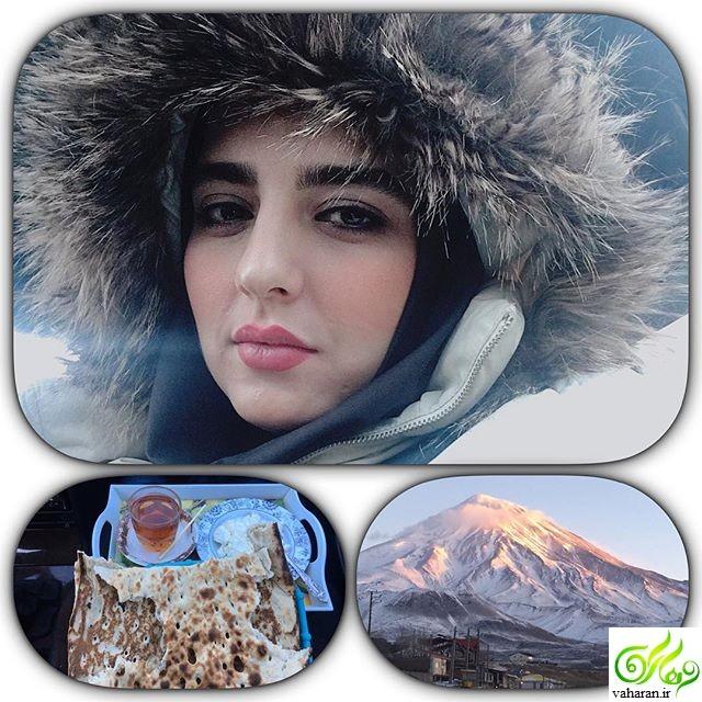 عکس های سارا محمدی بازیگر نقش لیلا در معمای شاه ، سارا محمدی خواهر نرگس محمدی