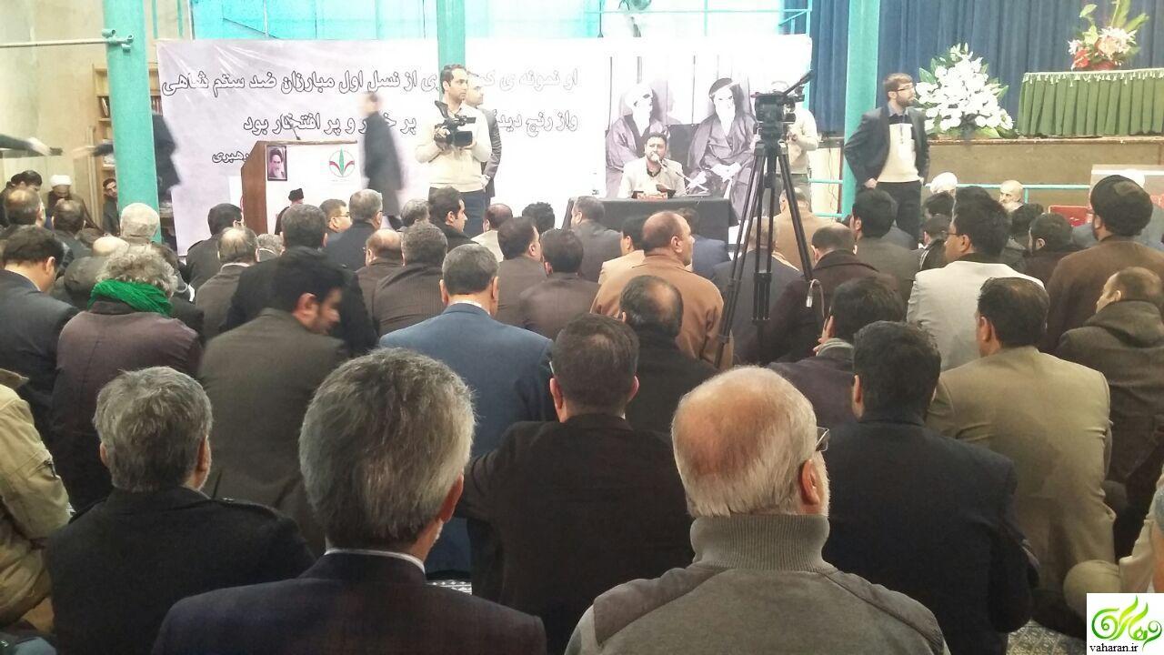 عکس های مراسم بزرگداشت رفسنجانی در جماران 8 بهمن 95