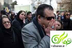 عکس های مراسم تشییع پوران فرخزاد 12 دی 95