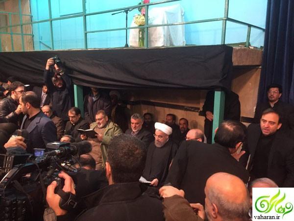 مراسم بزرگداشت هاشمی رفسنجانی + متن خانواده او درباره مراسم تشییع اش دی 95