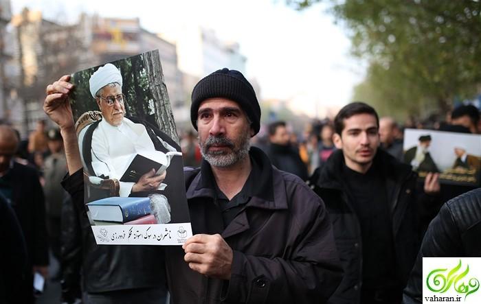 کامل ترین مجموعه عکس های تشییع هاشمی رفسنجانی 21 دی 95 + حواشی