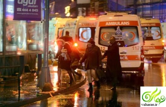 گزارش تصویری حمله به باشگاه شبانه در استانبول