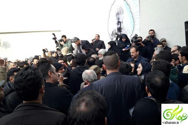 آغاز مراسم تشییع حسن جوهرچی بهمن 95 / گزارش کامل + عکس