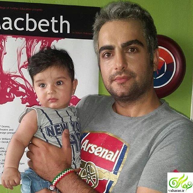 آیا این عکس حامد کمیلی و پسرش است؟! + بیوگرافی