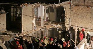 انفجار در خیابان خلیج فارس تهران اسفند 95