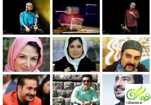 تبریکات جالب و خواندنی بازیگران به کیهان کلهر برنده جایزه گرمی ۲۰۱۷
