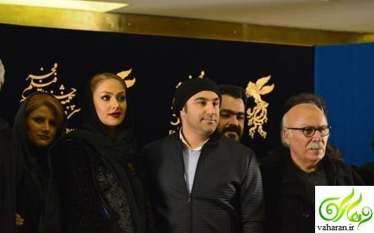 عکس های جدید محسن تنابنده و همسرش در جشنواره فجر 95