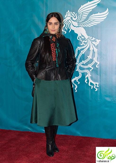تصاویر بازیگران در چهارمین روز جشنواره فجر 95
