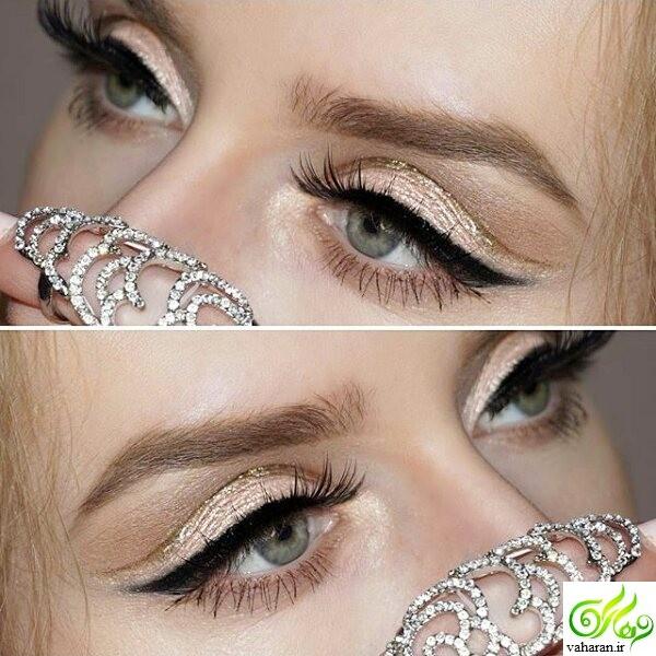 جدیدترین مدل آرایش چشم و ابرو نوروز ۹۶