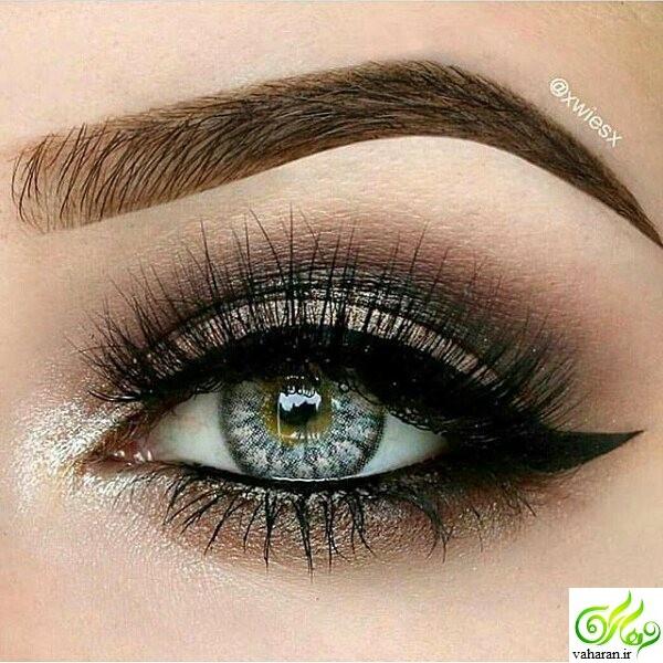 جدیدترین مدل آرایش چشم و ابرو نوروز 96