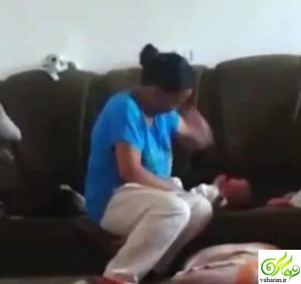شکنجه نوزاد توسط مادر سنگدل جنجال به پا کرد + عکس 18+