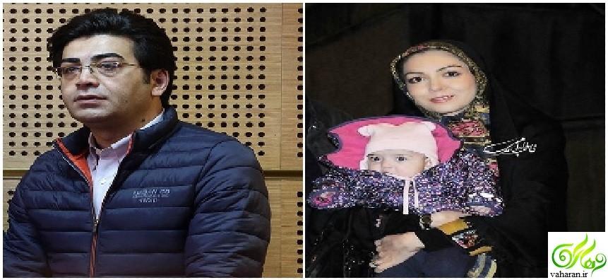 عکس دیدنی از عبور آزاده نامداری و فرزاد حسنی در جشنواره فجر 95 از کنار یکدیگر