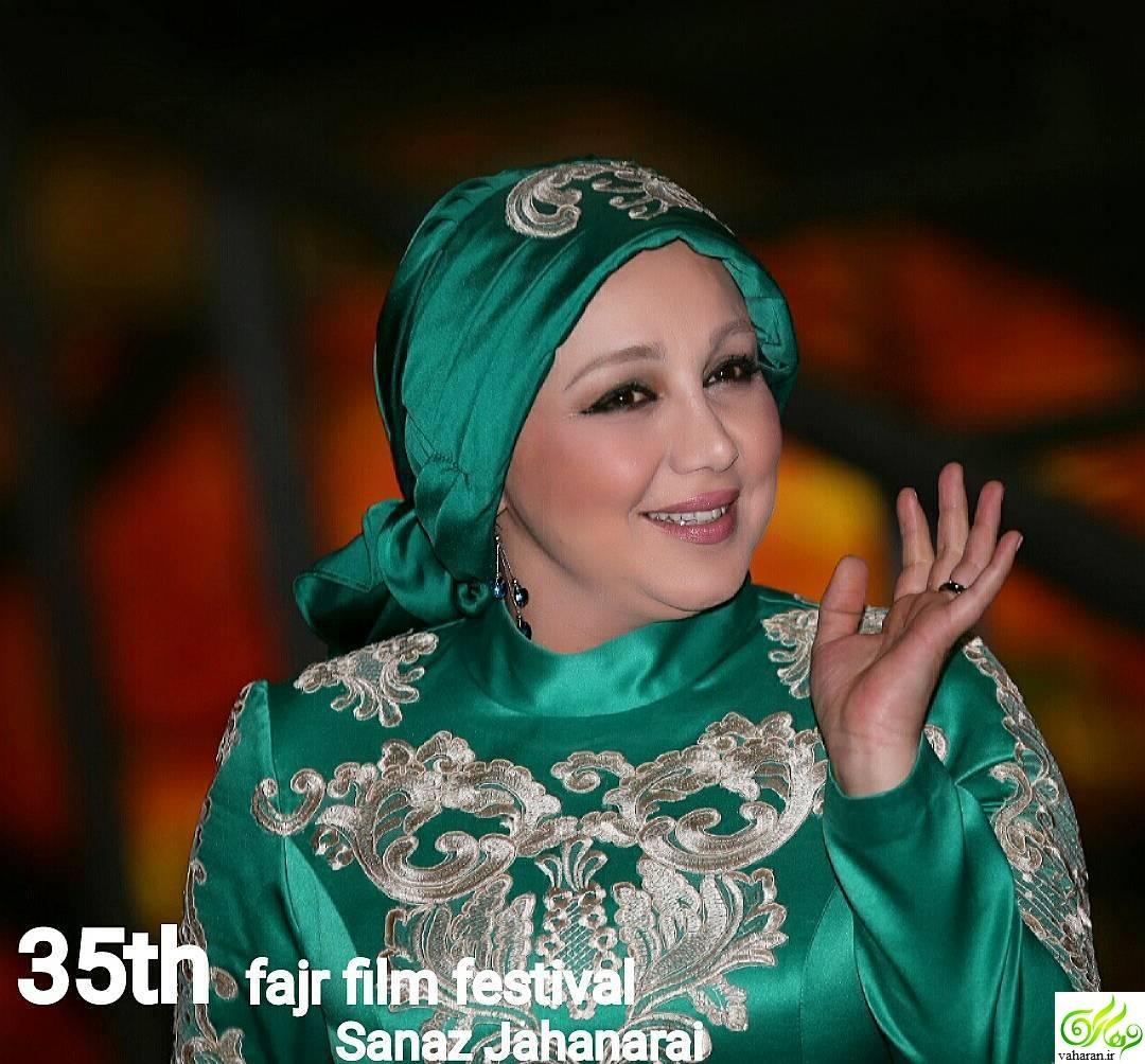 عکس هایی از لباس شیک بهنوش بختیاری در جشنواره فجر ۳۵