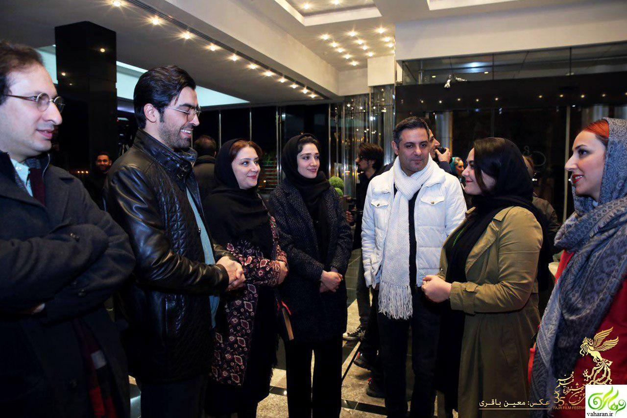 عکس های آیین تجلیل از نامزدهای جشنواره فجر 95 با حضور بازیگران و هنرمندان