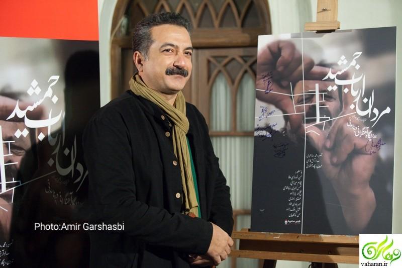عکس های اکران فیلم مردان ارباب جمشید پگاه آهنگرانی اسفند 95