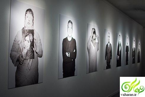 عکس های بازیگران در نمایشگاه دچار بهاره افشاری