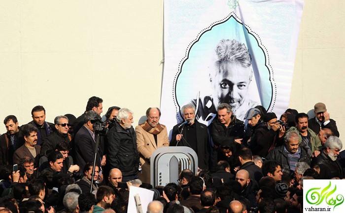 مراسم تشییع حسن جوهرچی بهمن 95
