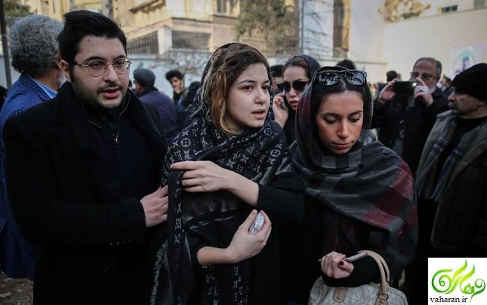 عکس های خانواده حسن جوهرچی در مراسم تشییع