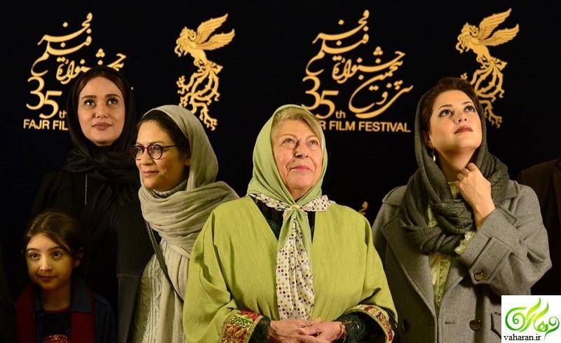 عکس های بازیگران در سومین روز سی و پنجمین جشنواره فجر 95
