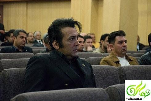 عکس های بازیگران در مراسم ترحیم پدر نیوشا ضیغمی اسفند 95