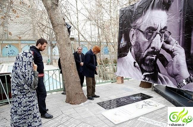 عکس های بازیگران در مراسم سالگرد فرج الله سلحشور اسفند 95