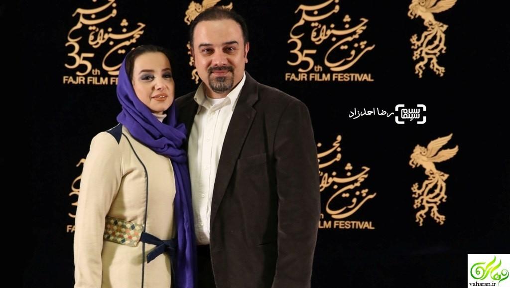 عکس های بازیگران در نهمین روز جشنواره فجر 95