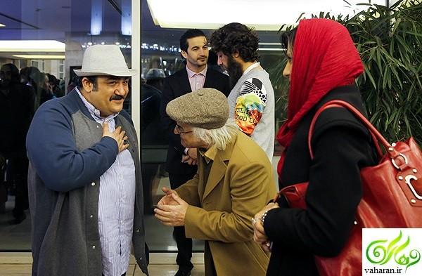 عکس های بازیگران در هشتمین روز جشنواره فجر 95