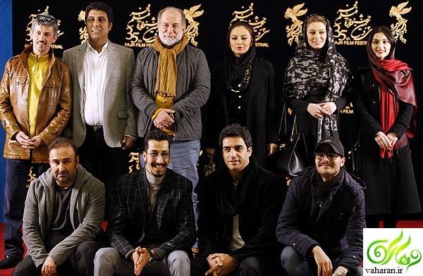 عکس های سحر قریشی در جشنواره فجر 95