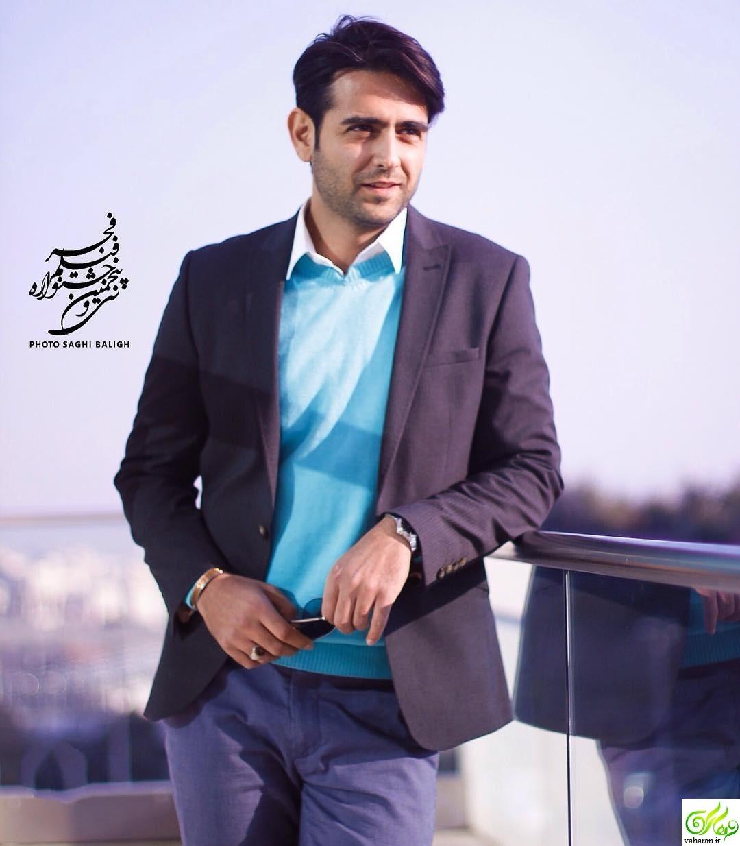 عکس های جذاب امیرحسین آرمان در جشنواره فجر 95
