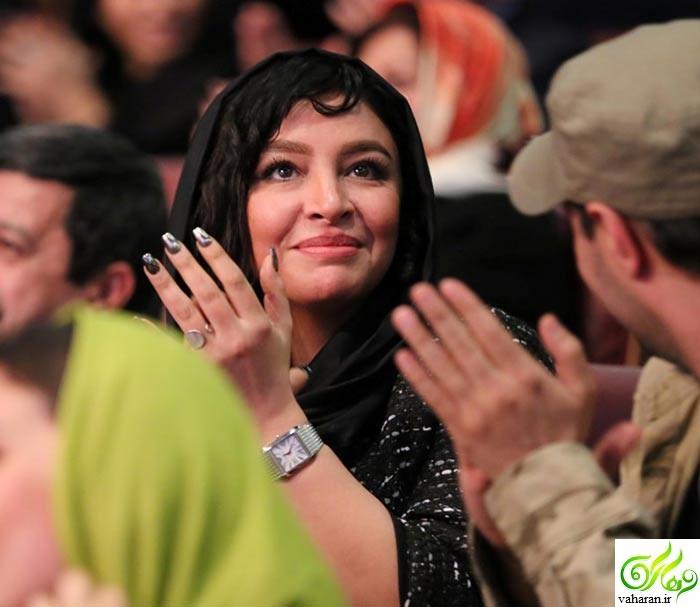 عکس های بازیگران و همسرانشان در اختتامیه جشنواره فجر 95