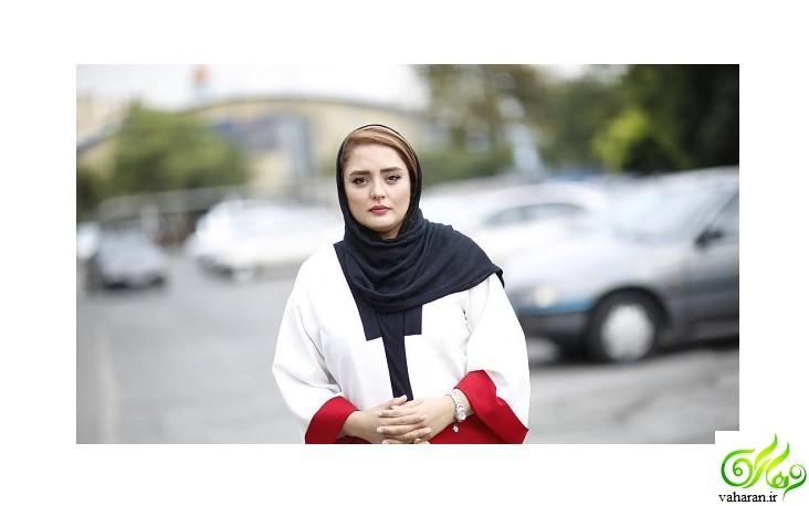 عکس مادر شوهر نرگس محمدی خرداد 96