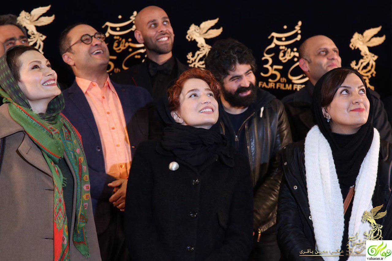 عکس های عاشقانه رامبد جوان و نگار جواهریان در جشنواره فیلم فجر 95