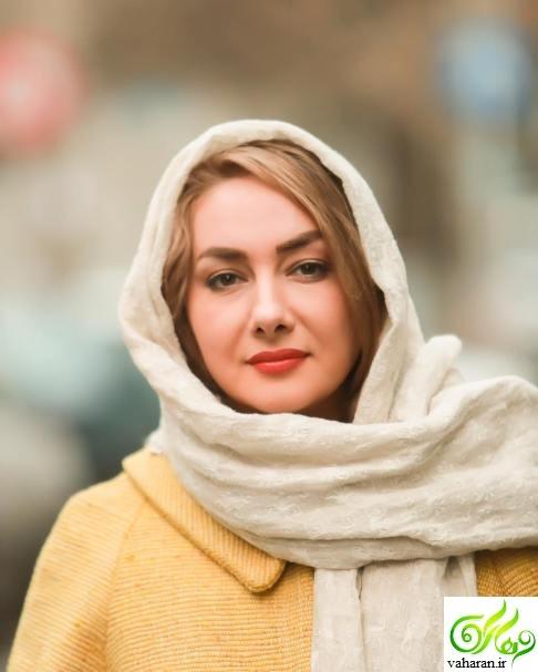 عکس های هانیه توسلی در جشنواره فجر 95 با دو رنگ موی متفاوت