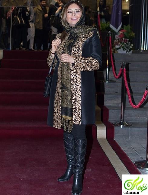 عکس های یکتا ناصر و منوچهر هادی در اکران فیلم ماحی